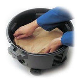 Sacs pouss. Cleanfix, S10 - paquet (10p)