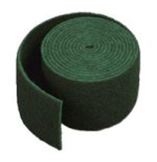 Schuurlap groen op rol 17cmx10m