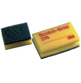 Eponge à récurer scotch brite 3M n°274