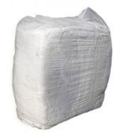 Poetslap interlock-wit gesorteerd 10kg