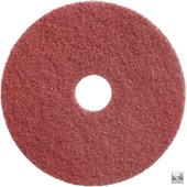 "Pads Twister  17"" Rouge, 2p"