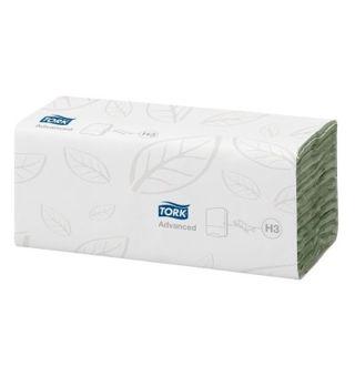 Papieren handdoekjes Tork, CZ, 2L, groen
