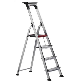 Trapladder Double Decker 5+1+1 treden