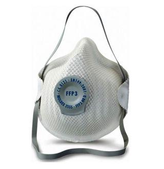 Stofmasker met klima-ventiel FFP3