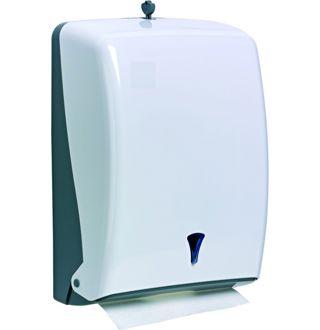 Dispenser voor papier zig-zag