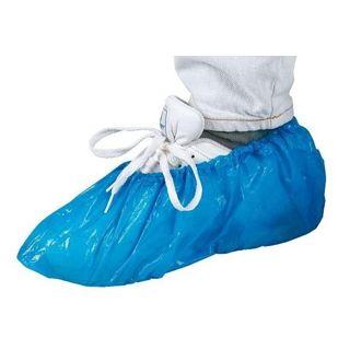 Overtrekschoen blauw 55my -100st