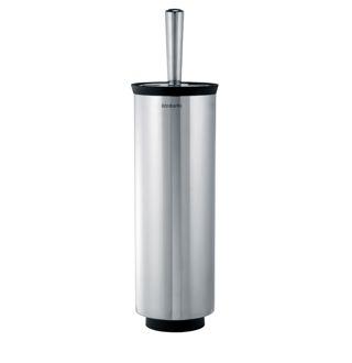 Toiletborstel met houder RVS