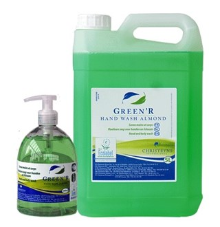 Green'R Hand Wash Almond 5L