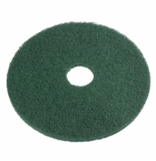 """Vloerpads 10"""" Groen, 5st"""