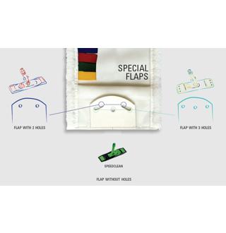 Vlakmop Multi Microfiber 40cm