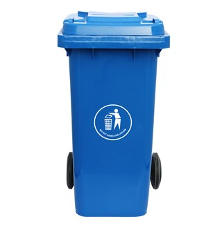 Vuilcontainer 140L Blauw
