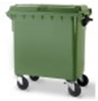 Vuilcontainer 770L Groen