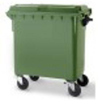 Vuilcontainer 770L Groen