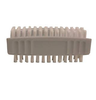 Double brosse à ongles PVC