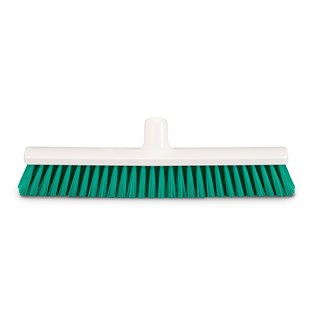 Veger half hard, hygiene 40cm Groen