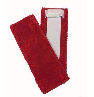 Mop à plat, speedclean micro 40cm Rouge