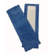 Vlakmop, speedclean microf. 40cm Blauw
