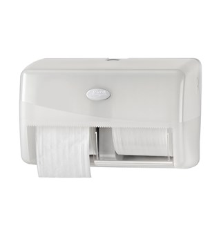 Dubbele toiletroldispenser Pearl White