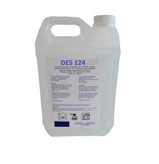 DES124 - Desinfecterende spray 5L  navul