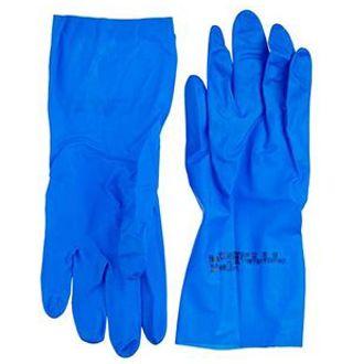 Protectiehandschoenen nitril Blauw M